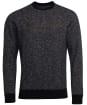 Men's Barbour International Balance Crew Sweater - Black