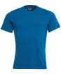 Men's Barbour International Small Logo Tee - Aqua