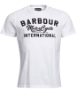 Men's Barbour International Fuse Tee - White