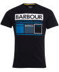 Men's Barbour International Squares Tee - Black