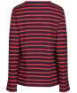 Women's Seasalt Sailor Shirt - Breton Dark Night Vermillion
