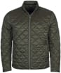 Men's Barbour International Gear Quilted Jacket - Sage