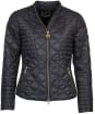 Women's Barbour International Freethrow Quilted Jacket - Black