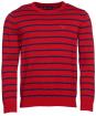 Bight Stripe Crew - Chilli Red