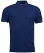 Men's Barbour International Hud Pocket Tee - WASHED REGL BLU