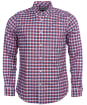 Men's Barbour Country Check 9 Tailored Shirt - Red Check