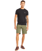 Men's Timberland Squam Lake Stretch Twill Straight Chino Shorts - Grape Leaf