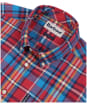 Men's Barbour Madras 5 Tailored Shirt - Red Check