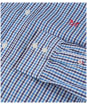 Men's Crew Clothing Classic Tattersall Shirt - Spirit Blue / Navy