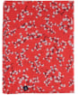 Women's Joules Conway Scarf - Red Ditsy