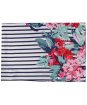 Women's Joules Conway Scarf - Navy Floral Border