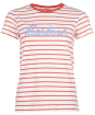 Women's Barbour Keilder Tee - OFF WHITE/DKSSH