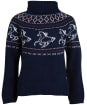 Women's Barbour Robertshaw Knit - Navy