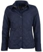 Women's Barbour Forth Quilted Jacket - Dark Navy