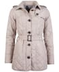 Women's Barbour Tummel Quilted Jacket - Light Trench