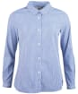 Women's Barbour Peppergrass Shirt - Navy / Off White