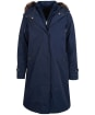 Women's Barbour Braan Waterproof Jacket - Dark Navy