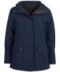 Women's Barbour Lockwood Waterproof Jacket - Navy