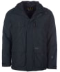 Men's Barbour Deptford Waterproof Jacket - Black