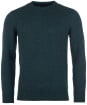 Men's Barbour Tisbury Crew Neck Sweater - Dark Aqua
