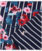 Women's Joules Harbour Printed Top - Navy Floral Stripe