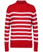 Women's Crew Clothing Twickenham Jumper - Red Stripe