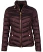 Women's Barbour International Aubern Quilted Jacket - Cocoa