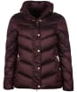 Women's Barbour International Parson Quilted Jacket - Cocoa