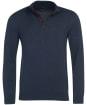 Men's Barbour Avoch Half Zip Sweater - Navy Marl