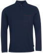 Men's Barbour Evin L/S Polo Shirt - Navy