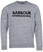 Men's Barbour International Sub Nep Sweater - Anthracite Marl
