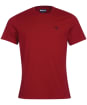 Men's Barbour Sports Tee - Crimson