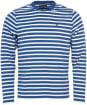 Men's Barbour Matelot Tee - Mid Blue