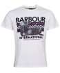 Men's Barbour International Racer Tee - Whisper White
