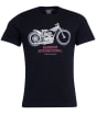 Men's Barbour International Strike Tee - Black
