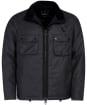 Men's Barbour International Tennant Waxed Jacket - Charcoal