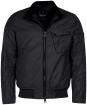 Men's Barbour International Seton Wax Jacket - Black