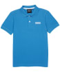 Boy's Barbour International Essentials Polo Shirt, 6-9yrs - PURE BLUE