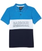 Boy's Barbour International Bold Polo Shirt – 10-15yrs - PURE BLUE