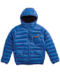 Boy's Barbour International Ouston Hooded Quilted Jacket, 10-15yrs - True Blue