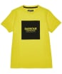 Boy's Barbour International Block Logo Tee, 6-9yrs - International Yellow