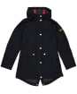 Girl's Barbour International Pedal Waterproof Jacket – 10-15yrs - Black