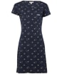 Women's Barbour Harewood Print Dress - Navy Bee Print