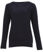 Women's Barbour Sailboat Knit Sweater - Navy