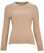 Women's Barbour Hampton Knit Sweater - Biscotti