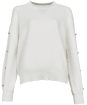 Women's Barbour International Drifting Knit - Off White
