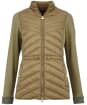 Women's Barbour International Understeer Sweater - Lt Army Green