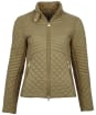 Women's Barbour International Formation Quilted Jacket - Lt Army Green