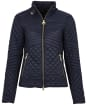 Women's Barbour International Formation Quilted Jacket - Dark Navy