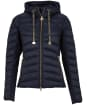 Women's Barbour International Grid Quilted Jacket - Dark Navy